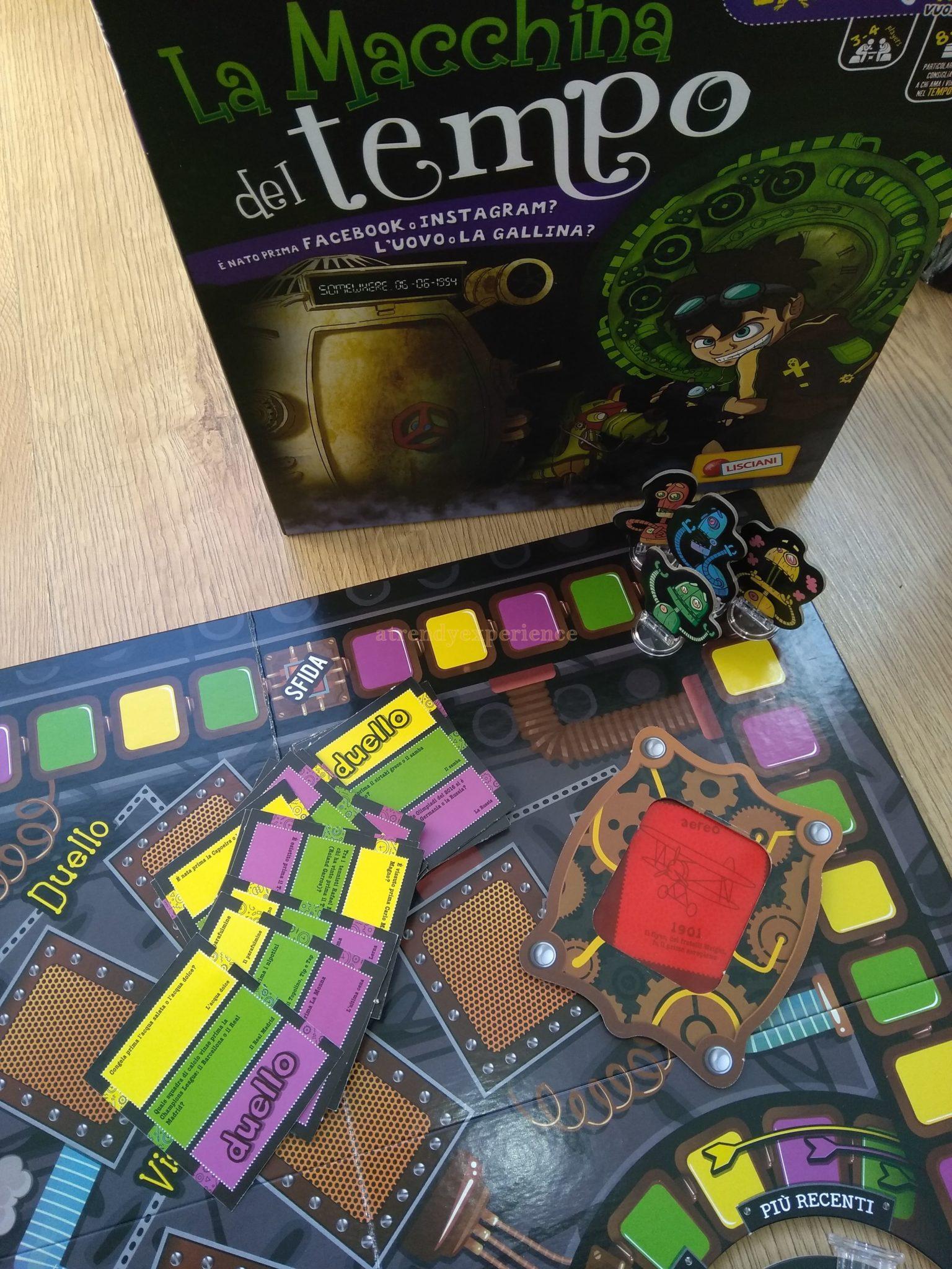 gioco in scatola la macchina del tempo di lisciani giochi