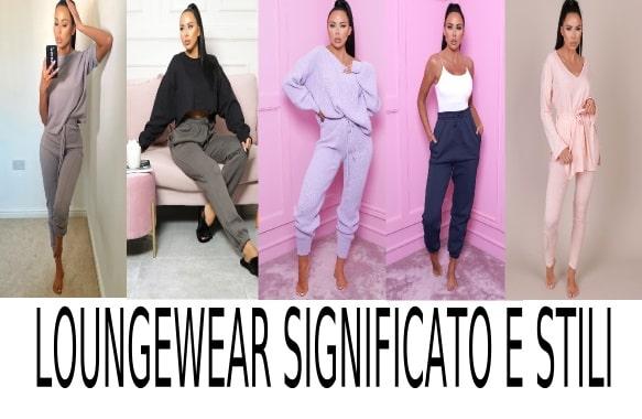 tipi di abbigliamento loungewear set