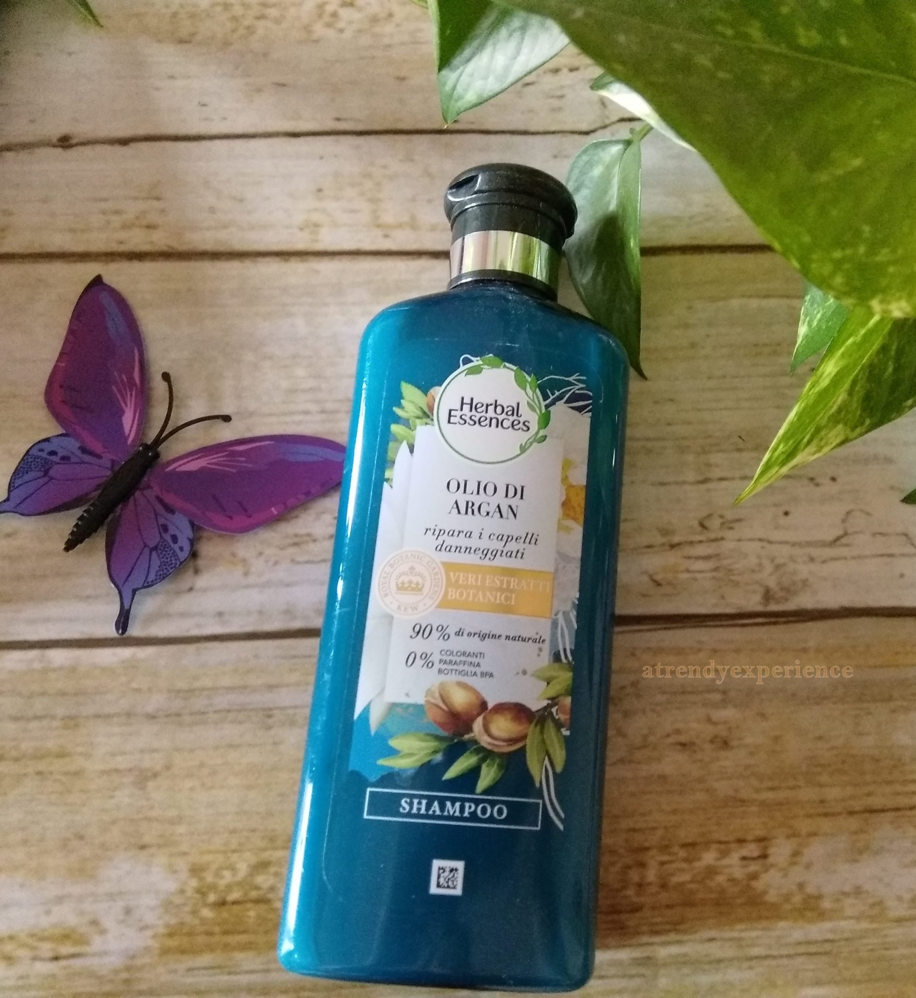 shampoo herbal essences olio di argan