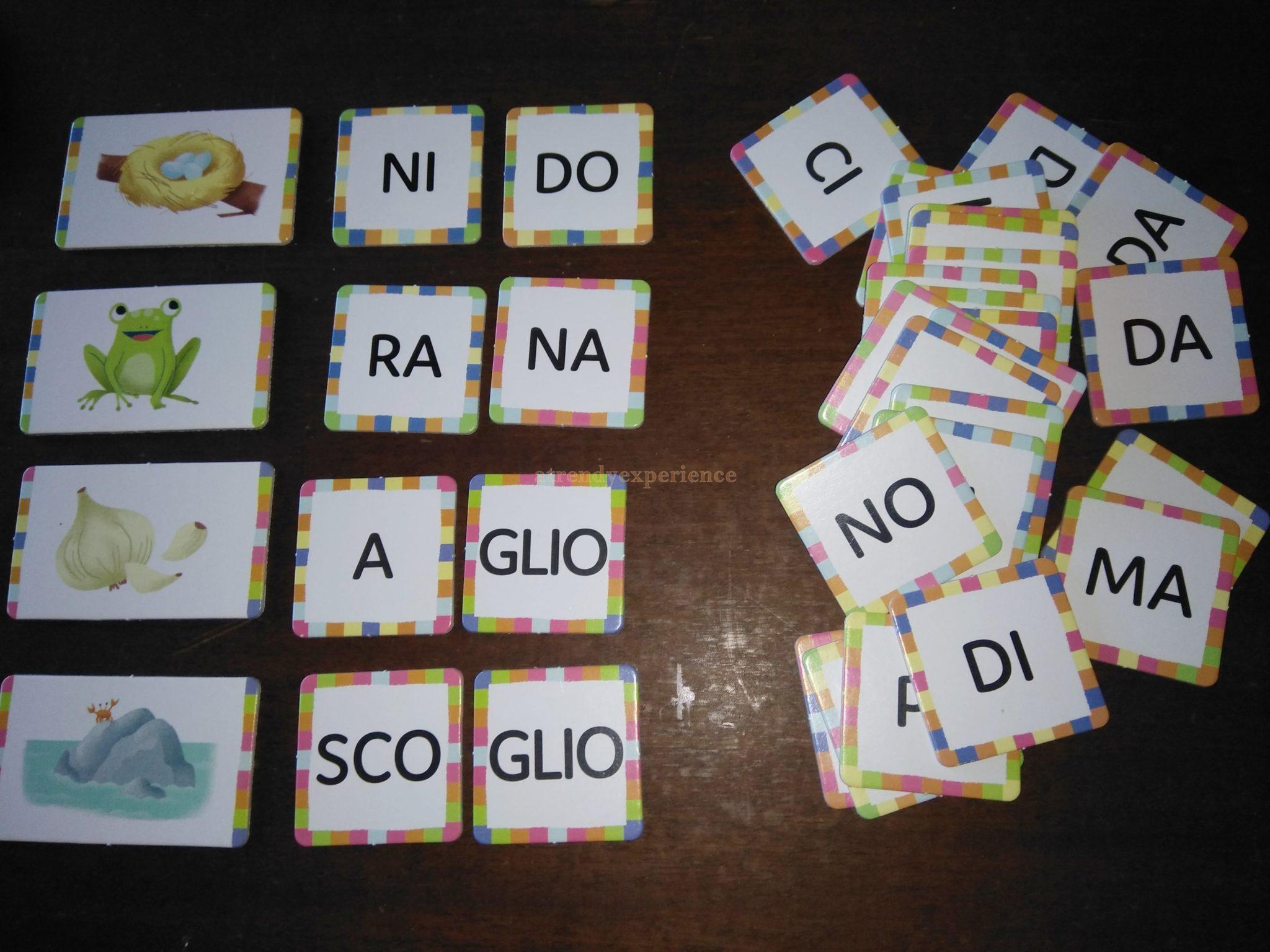 imparare a leggere con le sillabe