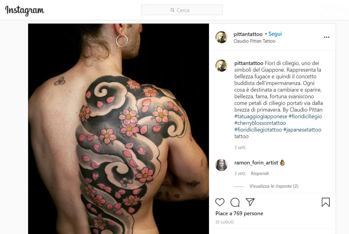 claudio pittan tatuatore italiano