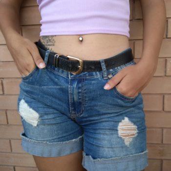 abbigliamento piercing ombelico