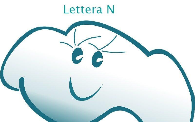 lettera N parole facili da leggere e scrivere
