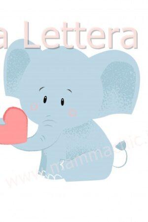La lettera E di ELEFANTE è la seconda vocale dell'alfabeto. E' una lettera molto facile da riconoscere e da scrivere sia nel font stampato minuscolo sia maiuscolo. Per chi vuole far avvinare il bambino alla lettura e alla scrittura della lettera E ecco due esercizi facili da stampare, ricalcare e leggere per chi fa educazione parentale o per chi vuole ripassare