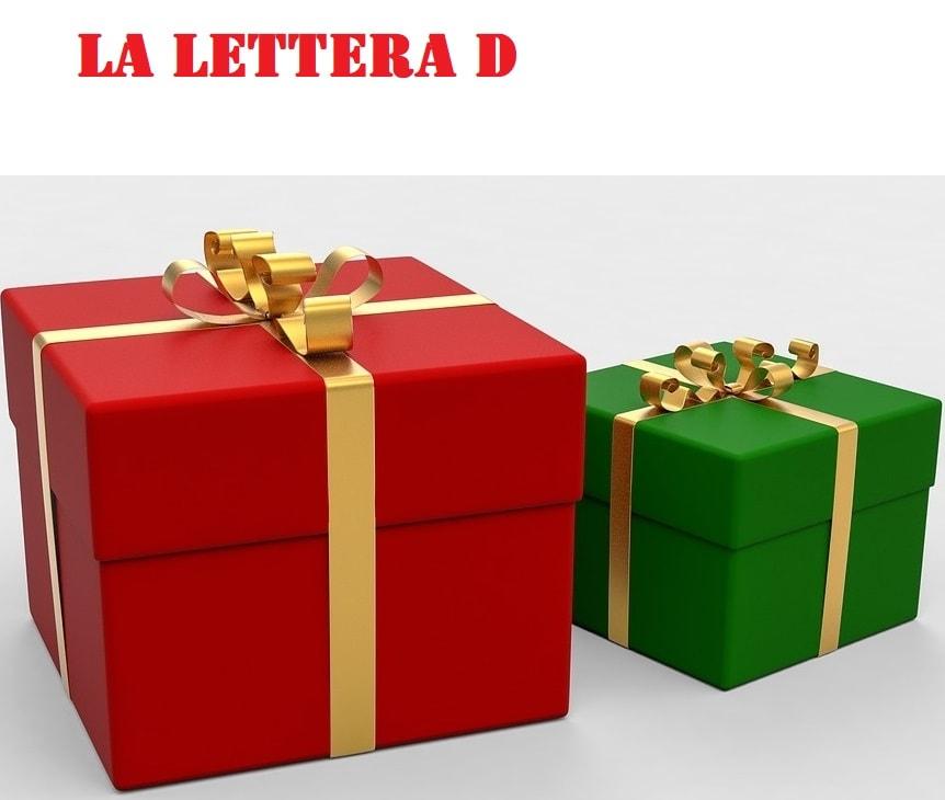 lettera d di dono parole e frasi facili da leggere
