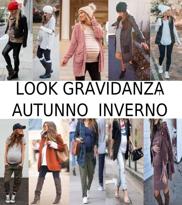 come vestirsi in gravidanza in autunno e inverno