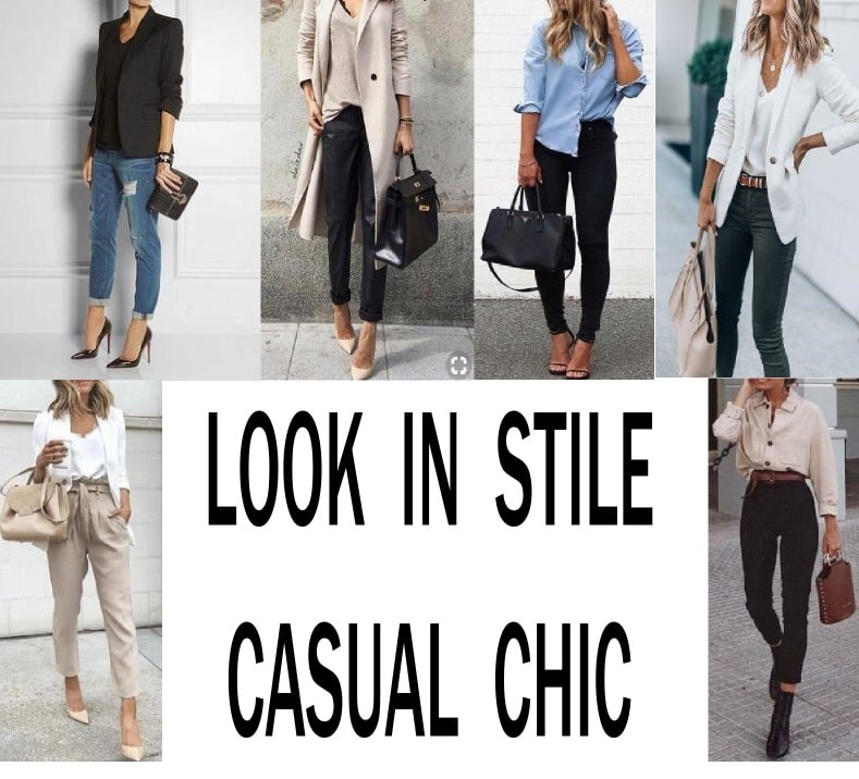 look in stile casual chic