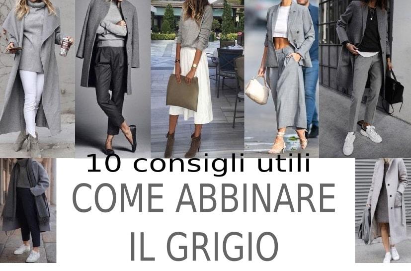moda donna come abbinare il grigio