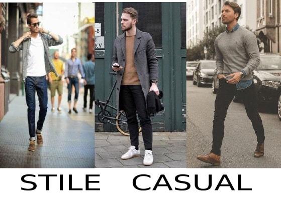 moda uomo stile casual