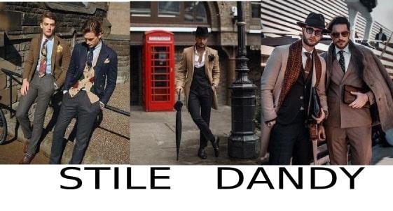 stili di moda uomo stile dandy