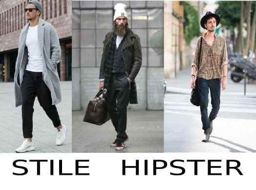 moda uomo stile hipster