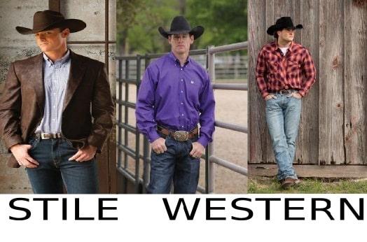 moda uomo stile western