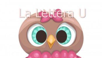 lettera u di uccello pregrafismi frasi facili da leggere