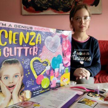 laboratorio lisciani scienza dei glitter