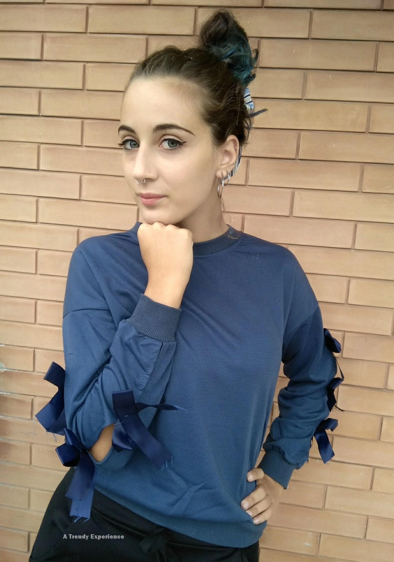 abbinamento con colore blu