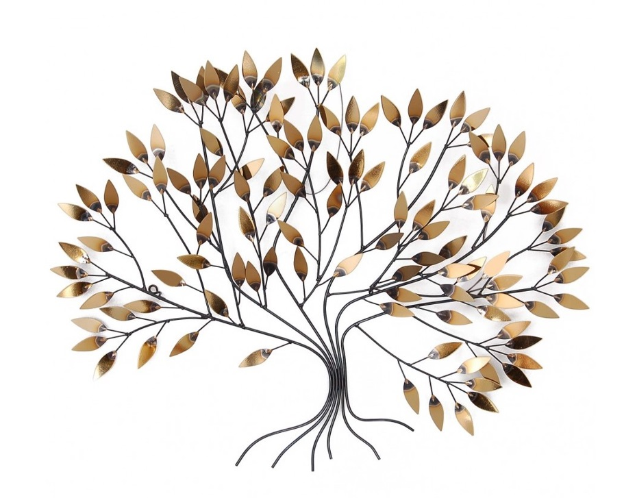arte dal mondo albero dorato