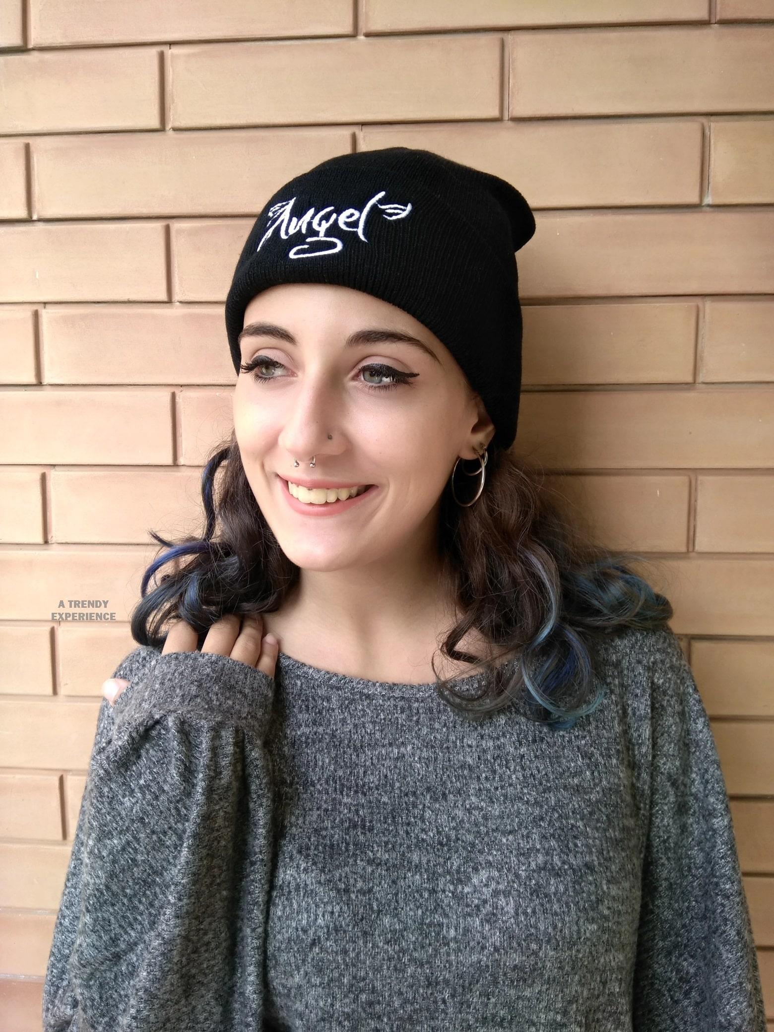 berretto nero shein