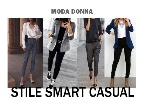 moda donna stile smart casual dress code