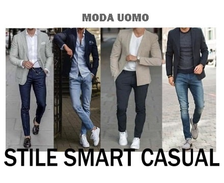 stile smart casual dress code moda uomo