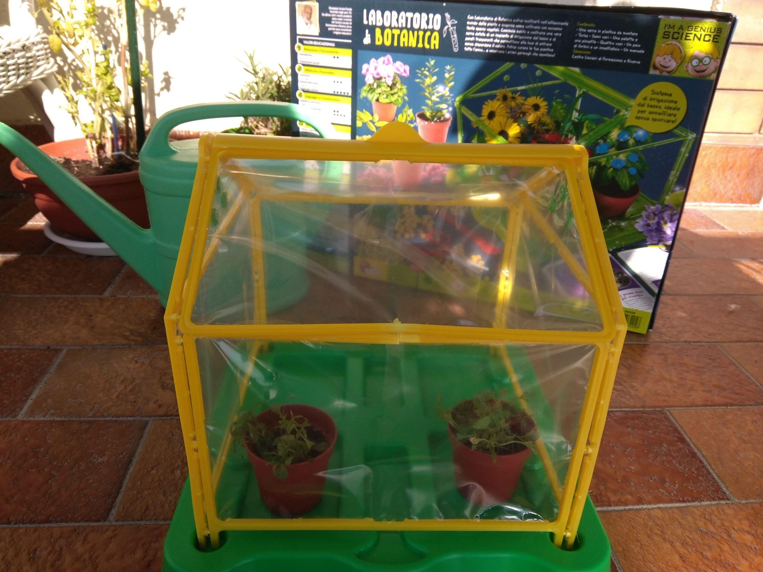 laboratorio di botanica lisciani giochi, gioco serra per bambini fai da te