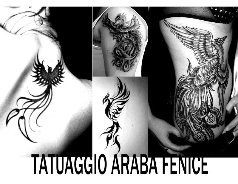 tipi di tatuaggio araba fenice