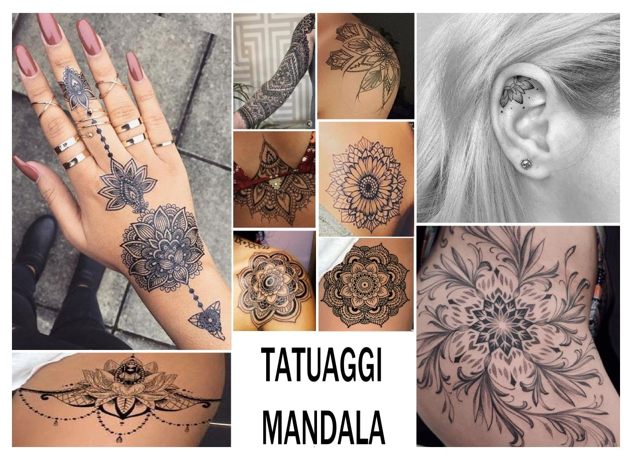 idee tatuaggio mandala