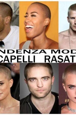 tendenza moda capelli rasati military haircuts