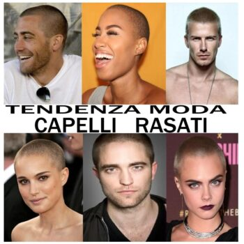 tendenza moda capelli rasati military haircuts
