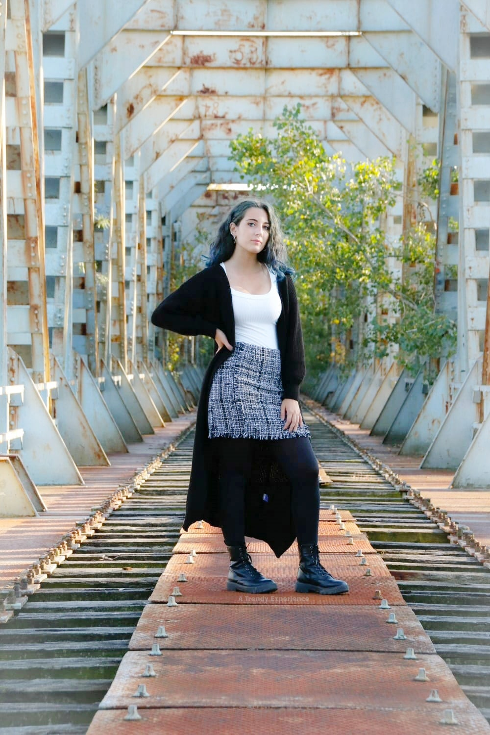 cardigan lungo outfit di atrendyexperience