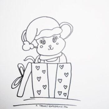 personaggi natalizi da colorare