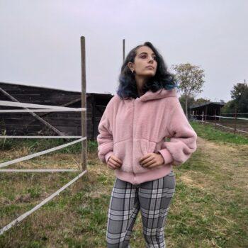 giacca pelliccia ecologica