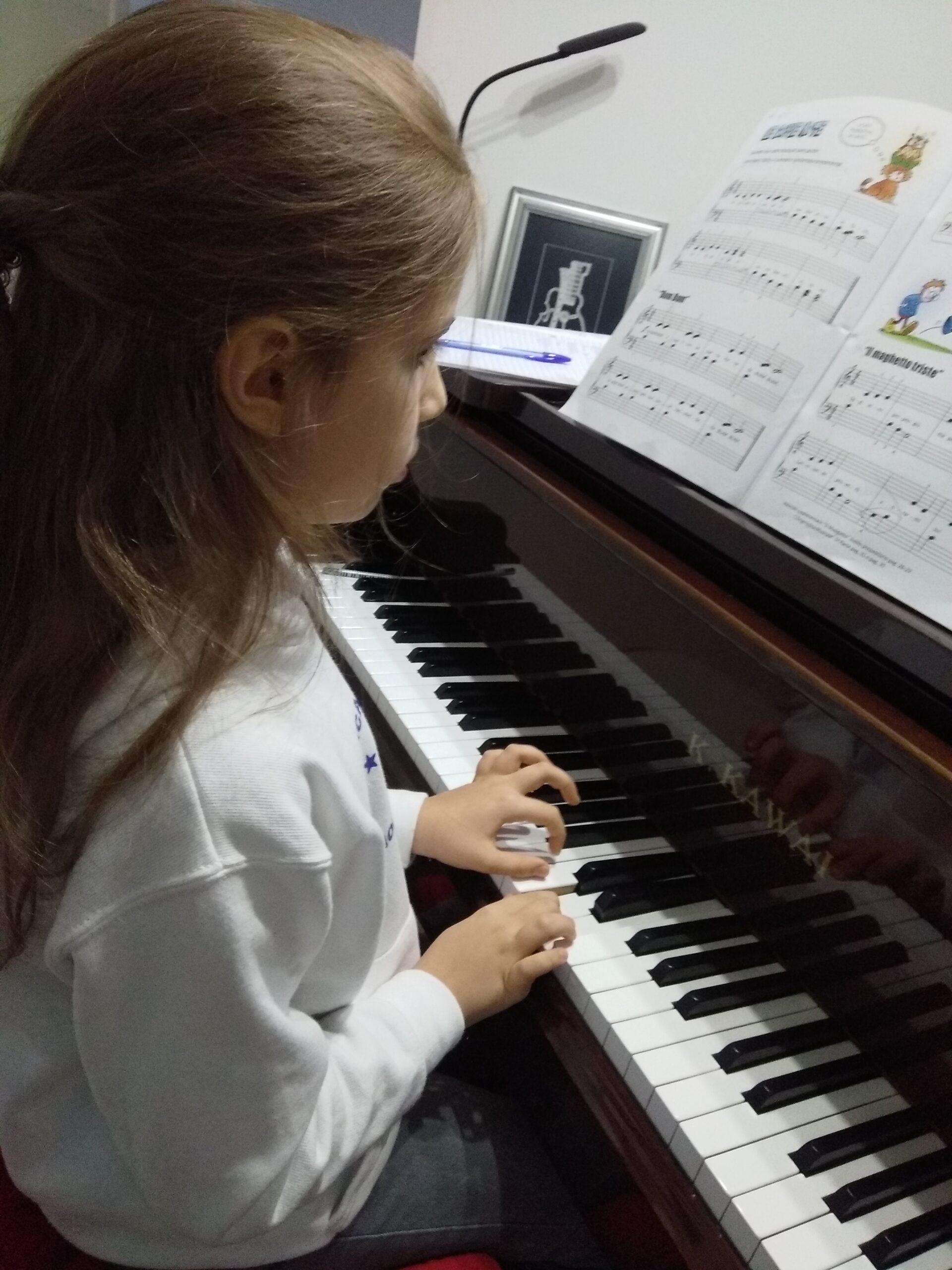 Suonare Il Pianoforte benefici  Per Bambini