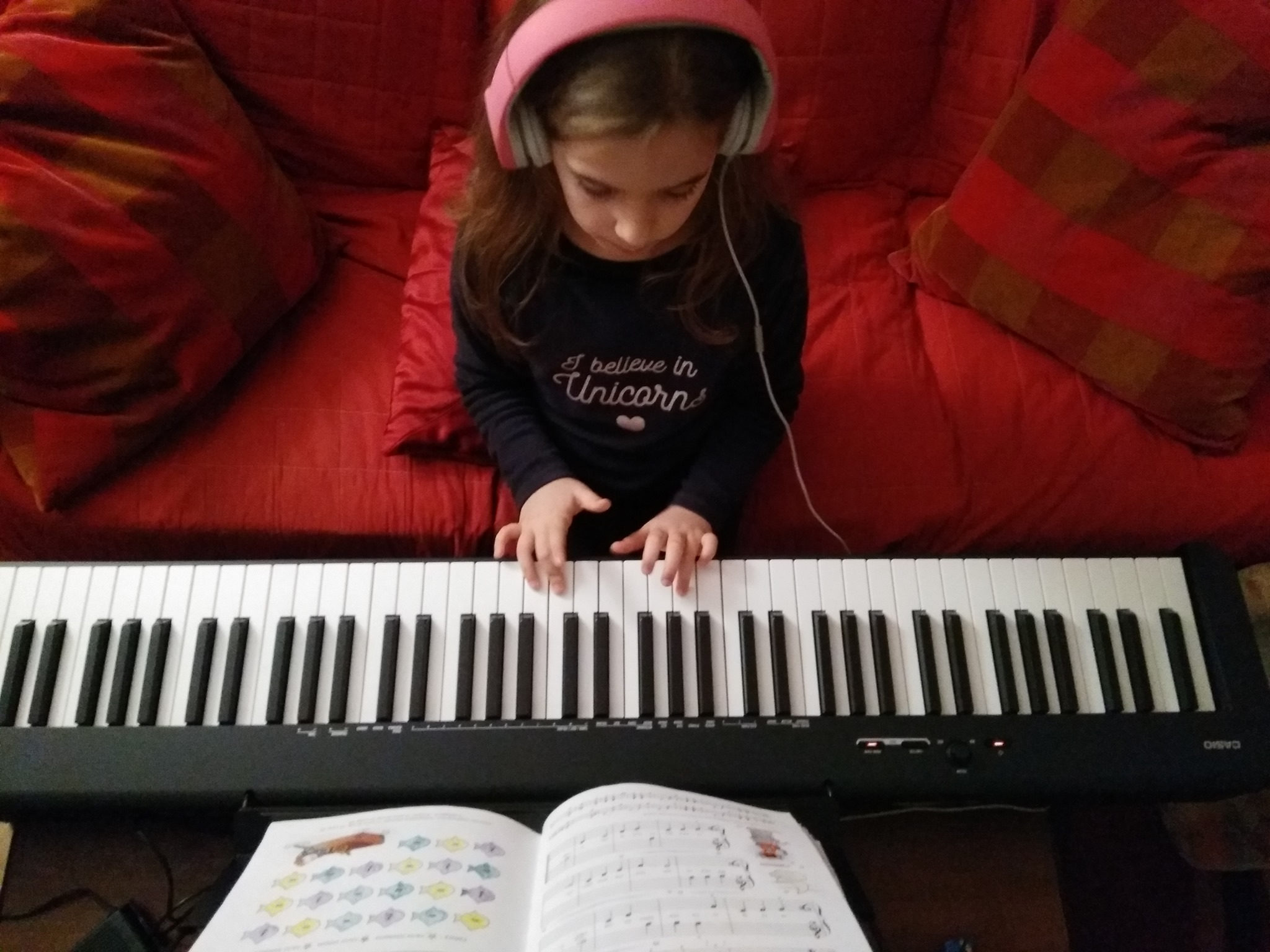 suonare il pianoforte benefici