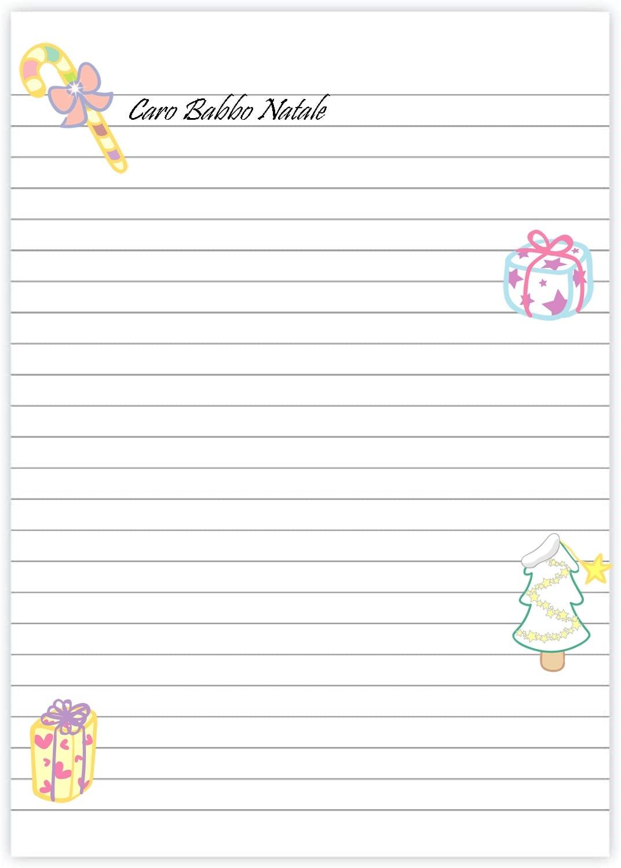 lettera di babbo natale da scrivere