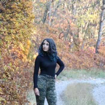 outfit stile army donna camouflage