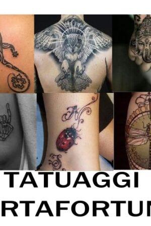 simboli tatuaggi portafortuna