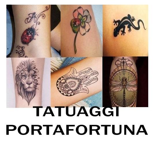 tatuaggi portafortuna simboli e significati