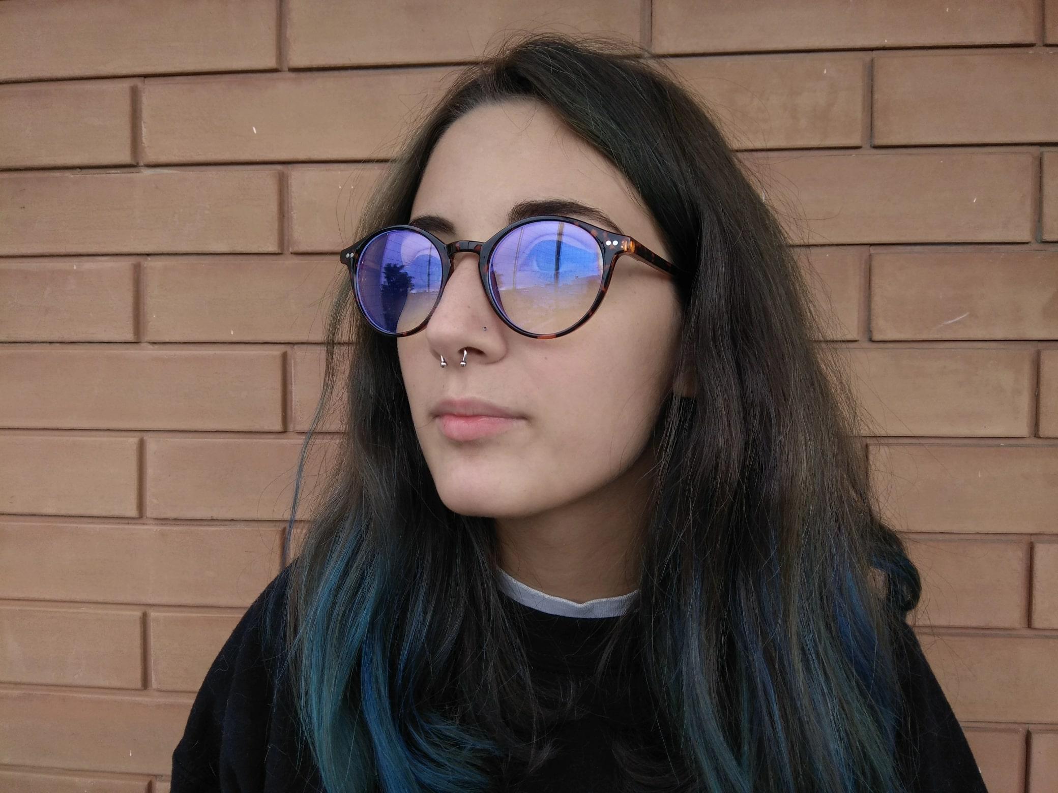 occhiali da pc anti luce blu funzionano