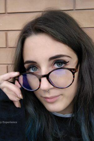 occhiali da computer anti luce blu a cosa servono