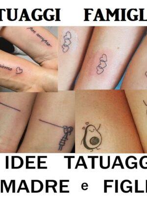 idee tatuaggi mamma e figlia tattoo per famiglie