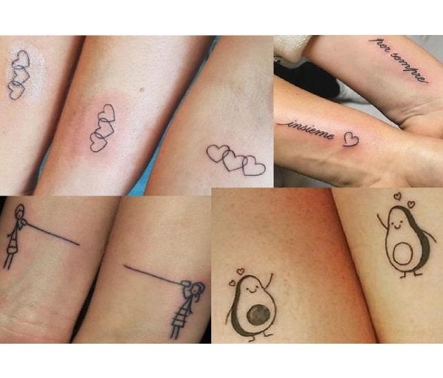 idee tattoo mamma e figlia tatuaggi per famiglie
