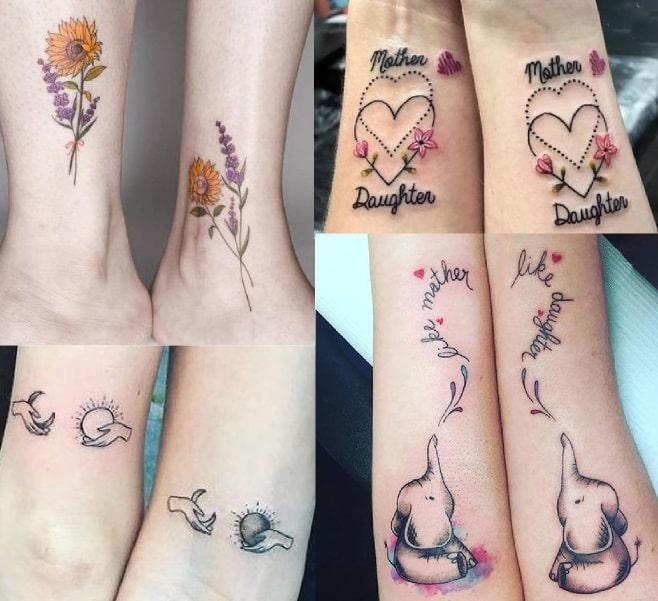 tatuaggi mamma e figlia