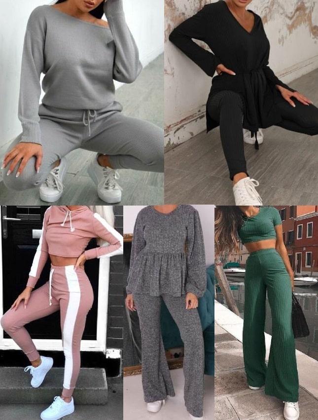 comfort outfit con la tuta