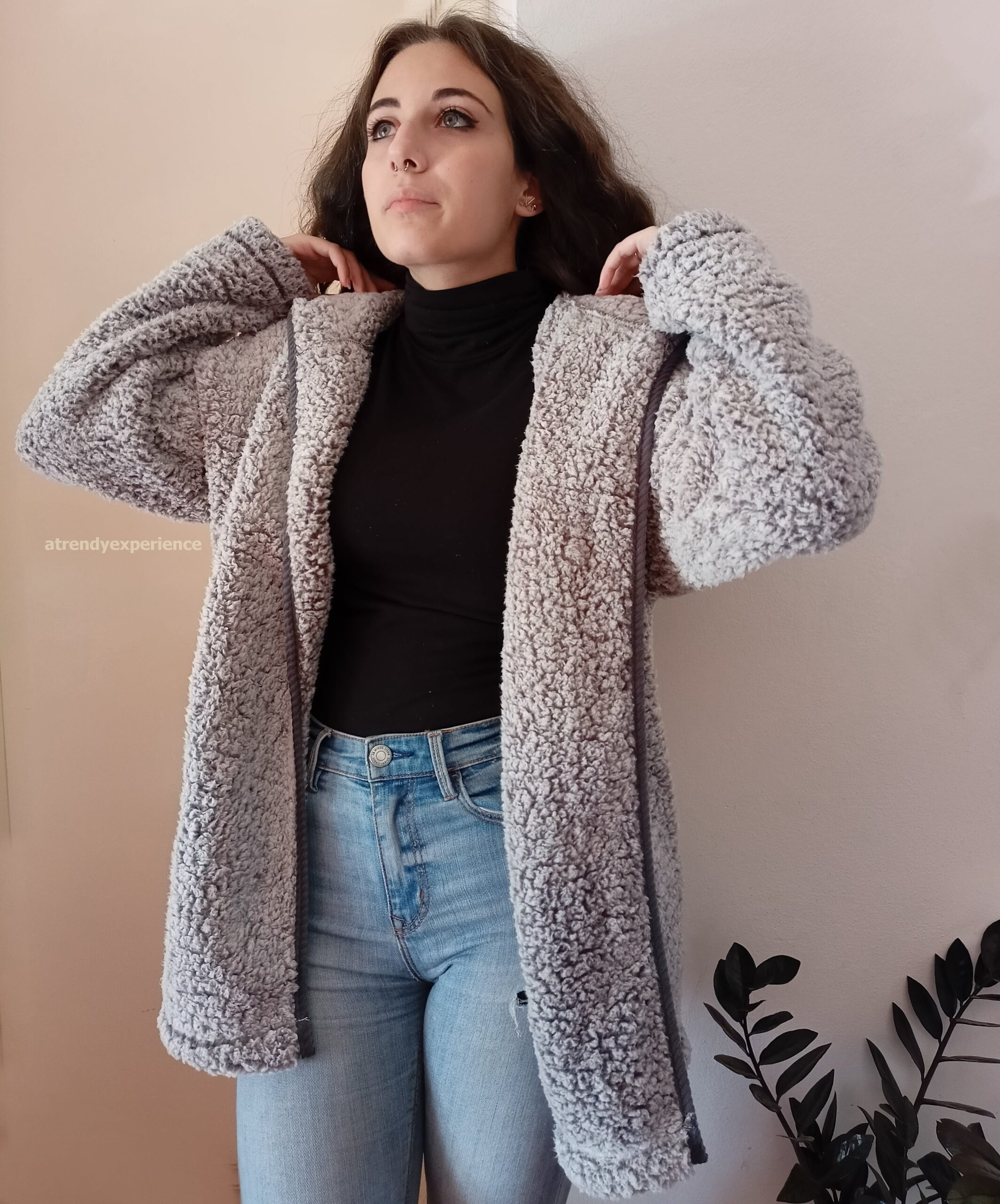 cappotto teddy coat