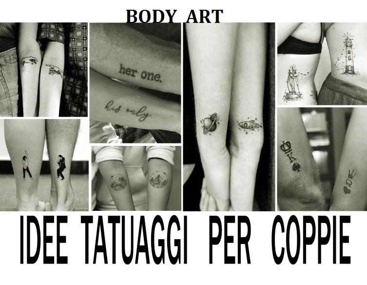 idee tatuaggi per coppie