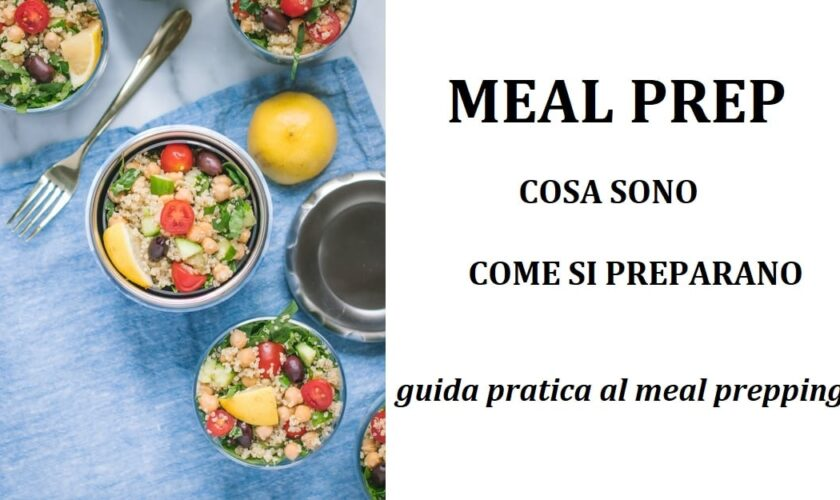 meal prepping e meal prep idee