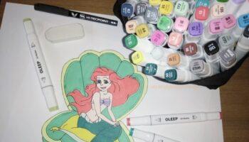 colori pennarelli oleep acquerellati recensione