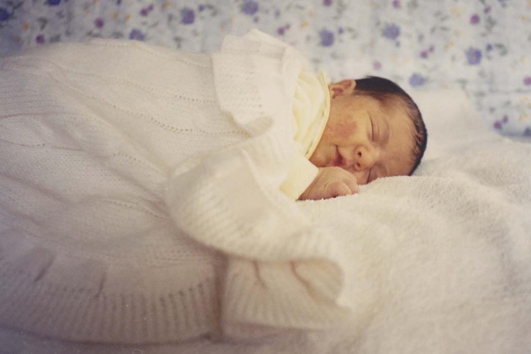 copertina per neonati in fibra naturale