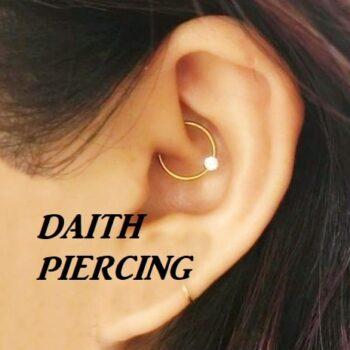 daith piercing cura manutenzione dolore rischi