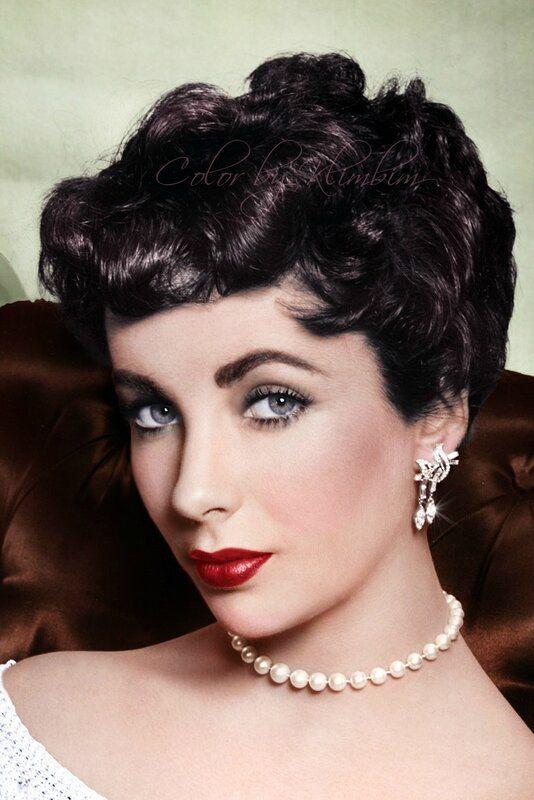 Trucco anni 50 Elisabeth Taylor